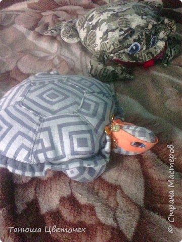 Подушка лягушка.( но говорят что жаба) фото 3