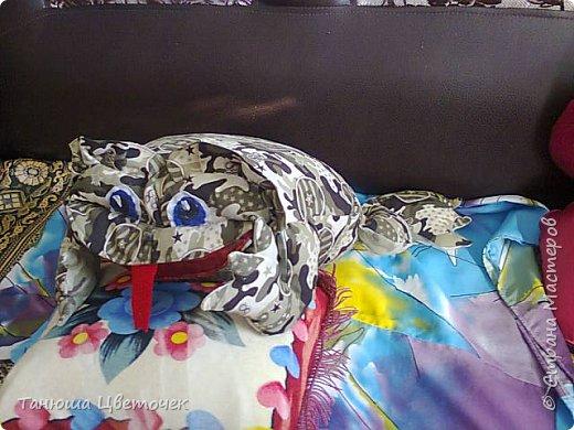 Подушка лягушка.( но говорят что жаба) фото 1