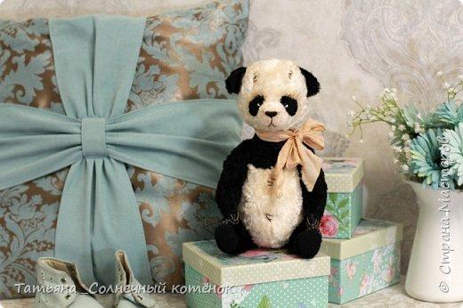 Тедди-панда Минки фото 1