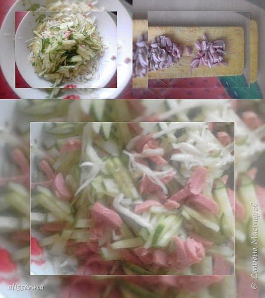"""Доброе время суток...жители Страны...))) на 23 февраля накрывала вот такой стол...))) может кому-нибудь пригодятся рецепты...буду рада...если поделитесь впечатлением...)))  В меню были салатики : """" уральский """", кальмаровый, """" Снежанна """"...  нарезка фруктовая ( бананы... апельсины... яблоки ) тарелочка ( слева кусочек торчит )... минога жареная ( ссылку сброшу позже на это чудо-юдо вкусного зверя ) на горячее были куриные грудки... фото 4"""