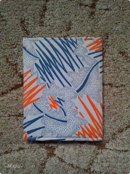 Привет, Страна Мастеров! Формат блокнота А5, 30 тетрадных листов, обложка тканная: хлопок, прошитая на швейной машинке. Блокнот сделала для себя для заметок. фото 5