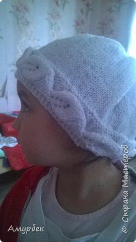 Шапочка для маленьких принцесс  фото 2