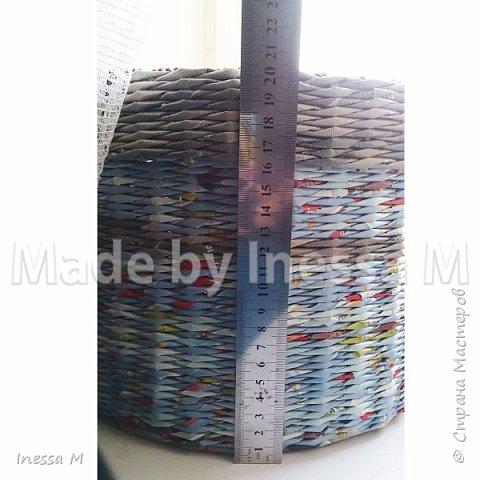 Небольшая коробка под нитки, клубки и т.д.  В основе крышки картон фото 9