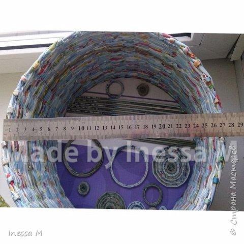 Небольшая коробка под нитки, клубки и т.д.  В основе крышки картон фото 11