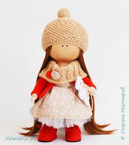 Моя первая проба в изготовлении кукол фото 2