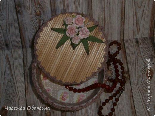 Шкатулка из шпажек фото 5