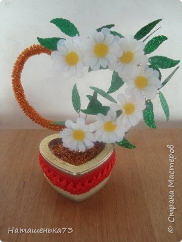 Валентинка с ромашками фото 1