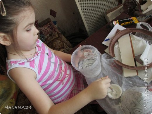Вот такую шкатулку мы с Катюшкой совместно сотворили для её девчоночьих сокровищ . фото 4