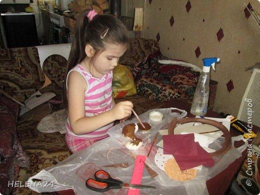 Вот такую шкатулку мы с Катюшкой совместно сотворили для её девчоночьих сокровищ . фото 5