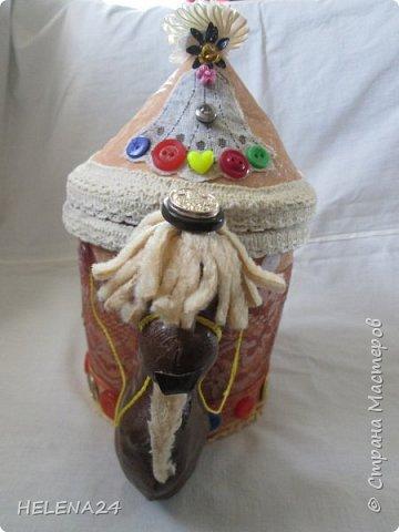 Вот такую шкатулку мы с Катюшкой совместно сотворили для её девчоночьих сокровищ . фото 21