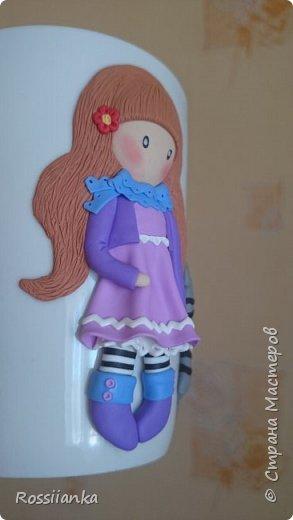 Здравствуйте жители СМ. Увлекаюсь лепкой из полимерной глины. Вот знакомьтесь с куклёной. фото 3