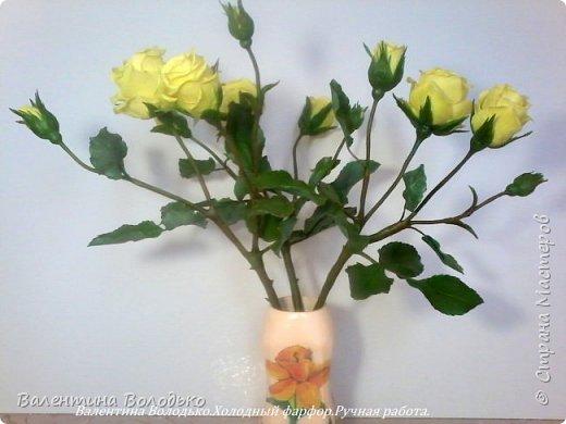 Добрый день мастера и мастерицы!!!!Сегодня у меня расцвели лимонные кустовые розы!!!!! фото 4