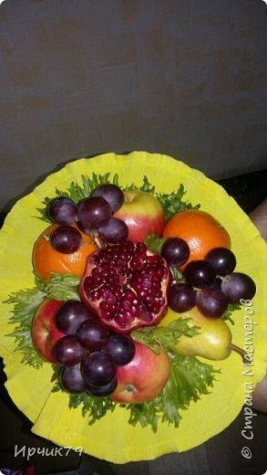 Букет из фруктов фото 1