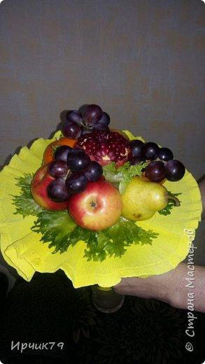 Букет из фруктов фото 2