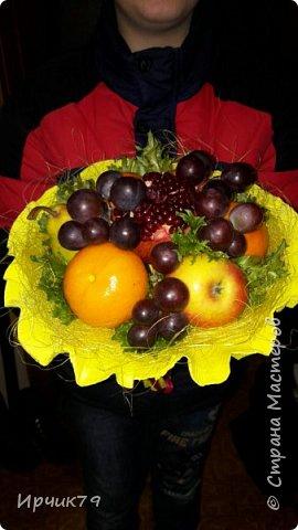 Букет из фруктов фото 3