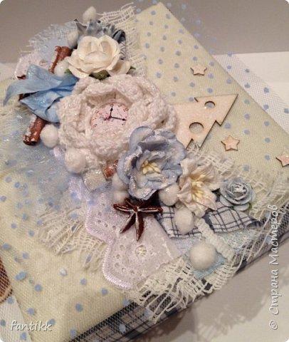 Текстильная коробка фото 2