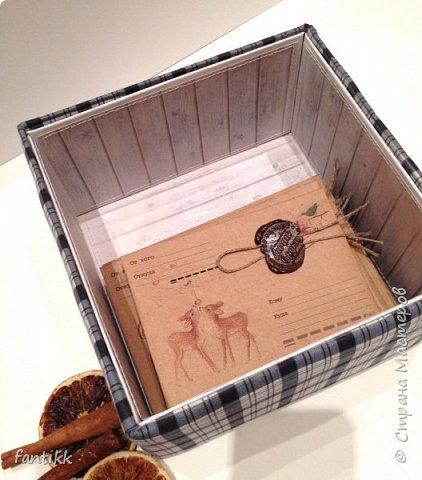 Текстильная коробка фото 3
