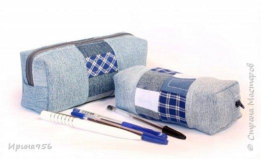Здесь МК по шитью косметички в форме кирпича :) http://knitly.com/3495 фото 1