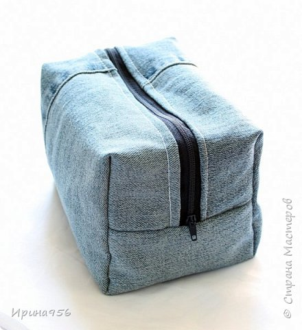Здесь МК по шитью косметички в форме кирпича :) http://knitly.com/3495 фото 27