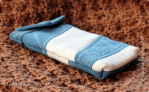Здесь МК по шитью косметички в форме кирпича :) http://knitly.com/3495 фото 24