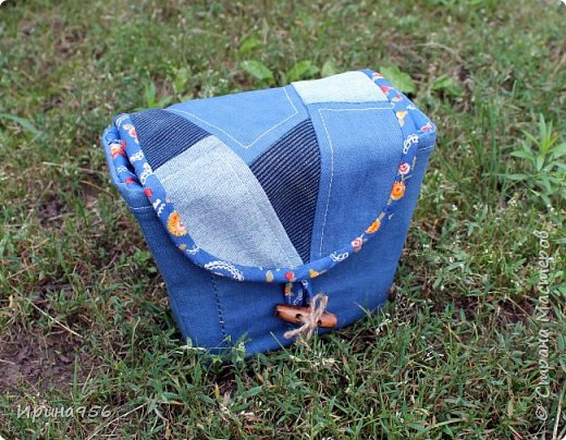 Здесь МК по шитью косметички в форме кирпича :) http://knitly.com/3495 фото 17