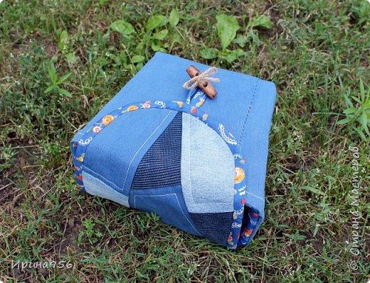 Здесь МК по шитью косметички в форме кирпича :) http://knitly.com/3495 фото 18
