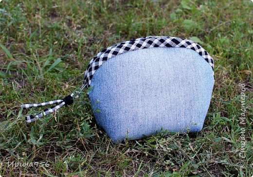 Здесь МК по шитью косметички в форме кирпича :) http://knitly.com/3495 фото 9