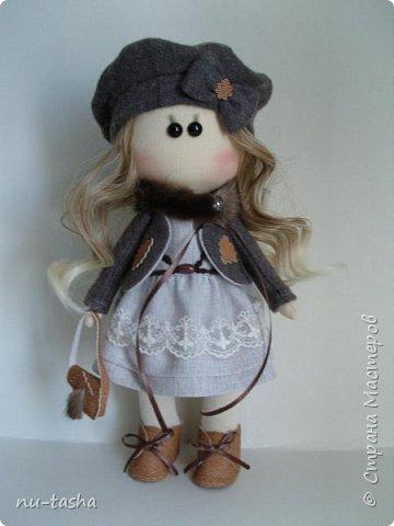 """Новая интерьерная куколка из серии """"Модницы"""" - Софи. Рост 30 см, стоит самостоятельно, руки-ноги двигаются. фото 1"""
