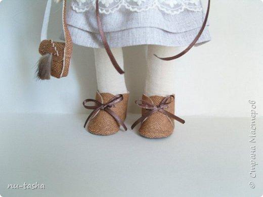 """Новая интерьерная куколка из серии """"Модницы"""" - Софи. Рост 30 см, стоит самостоятельно, руки-ноги двигаются. фото 4"""