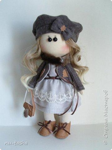 """Новая интерьерная куколка из серии """"Модницы"""" - Софи. Рост 30 см, стоит самостоятельно, руки-ноги двигаются. фото 5"""