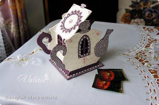 Кухонный набор состоит из чайного домика, салфетницы, сахарницы и зубочистницы ))) ну или баночки для зубочисток ))) фото 6