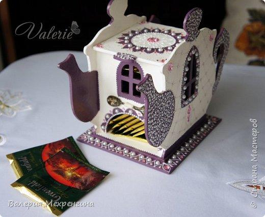 Кухонный набор состоит из чайного домика, салфетницы, сахарницы и зубочистницы ))) ну или баночки для зубочисток ))) фото 7