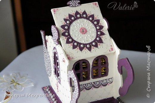 Кухонный набор состоит из чайного домика, салфетницы, сахарницы и зубочистницы ))) ну или баночки для зубочисток ))) фото 5