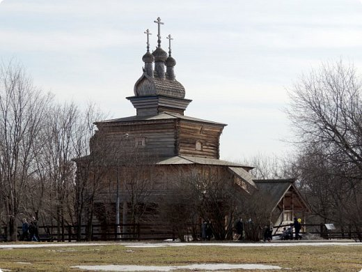 Церковь Георгия Победоносца из Среднепогостского прихода в музее-заповеднике Коломенское фото 5