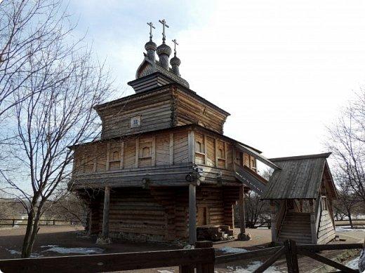 Церковь Георгия Победоносца из Среднепогостского прихода в музее-заповеднике Коломенское фото 1