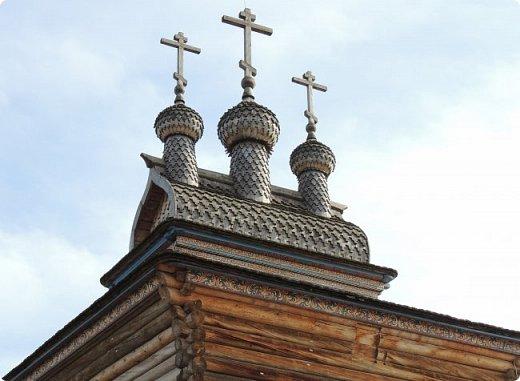 Церковь Георгия Победоносца из Среднепогостского прихода в музее-заповеднике Коломенское фото 2