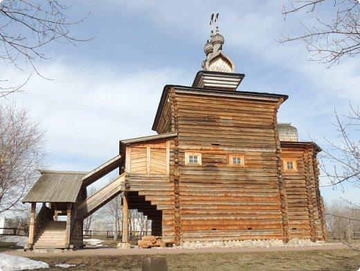 Церковь Георгия Победоносца из Среднепогостского прихода в музее-заповеднике Коломенское фото 6