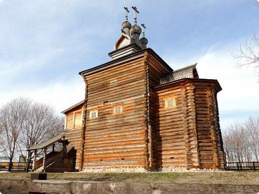 Церковь Георгия Победоносца из Среднепогостского прихода в музее-заповеднике Коломенское фото 3