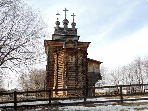 Церковь Георгия Победоносца из Среднепогостского прихода в музее-заповеднике Коломенское фото 4