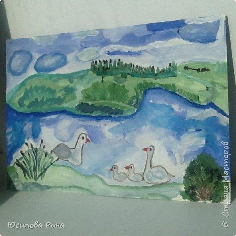 Рисунок на конкурс Водное царство Пильнинского района