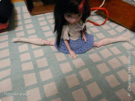 ((Привет , это я Дракулаура! Сегодня я решила занятся гимнастикой. фото 3