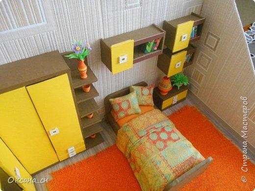 """Здравствуйте Мастера и Мастерицы! И снова я с игрушечной мебелью год спустя. Сегодня хочу представить игрушечную """"Солнечную"""" мебель. В прошлом году я предоставила подробный МК по мебели для девочки.Чтоб не повторяться, я в сей раз предоставлю фото последовательности работы и размеры мебели. фото 20"""