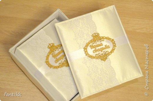 Альбом свадебный в коробке фото 3