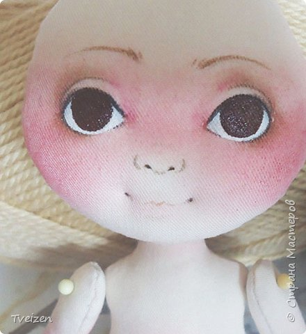 Меня давно просили показать выкройку и процесс создания куклы, так что сегодня - фотоотчет с последней работы. фото 8