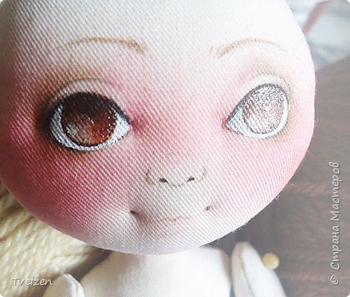 Меня давно просили показать выкройку и процесс создания куклы, так что сегодня - фотоотчет с последней работы. фото 9