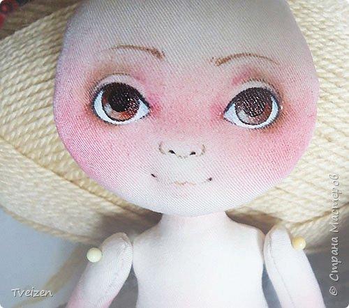Меня давно просили показать выкройку и процесс создания куклы, так что сегодня - фотоотчет с последней работы. фото 10