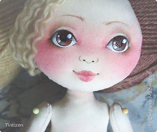 Меня давно просили показать выкройку и процесс создания куклы, так что сегодня - фотоотчет с последней работы. фото 11
