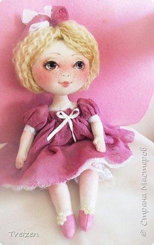Меня давно просили показать выкройку и процесс создания куклы, так что сегодня - фотоотчет с последней работы. фото 12