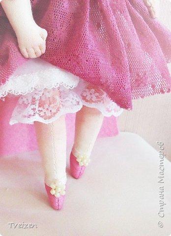 Меня давно просили показать выкройку и процесс создания куклы, так что сегодня - фотоотчет с последней работы. фото 13