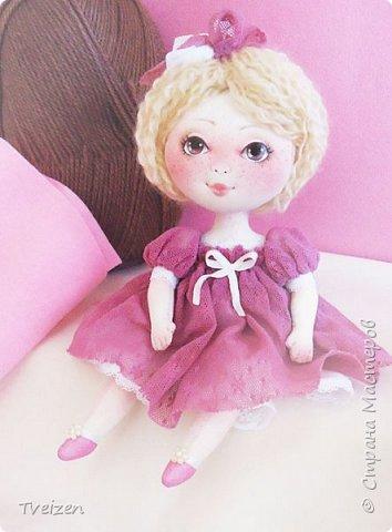 Меня давно просили показать выкройку и процесс создания куклы, так что сегодня - фотоотчет с последней работы. фото 1
